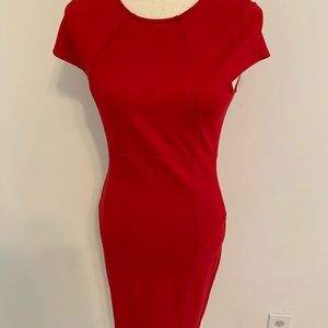 Body con dress with zip up back perfect for work